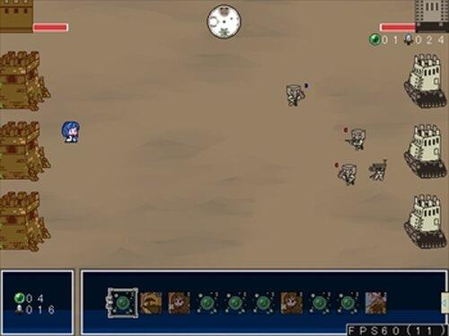 クロスフォートレス Game Screen Shot5