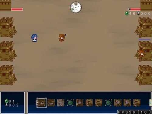 クロスフォートレス Game Screen Shots
