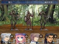 ハクスラダンジョンのゲーム画面