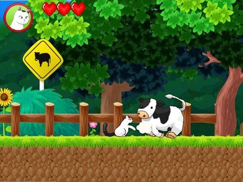 モモのわんぱくアドベンチャー Game Screen Shot1