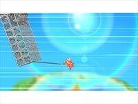 ニュー・スーパーフックガールのゲーム画面