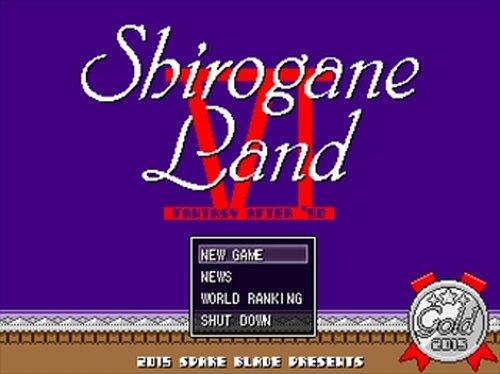 シロガネランド Game Screen Shot2