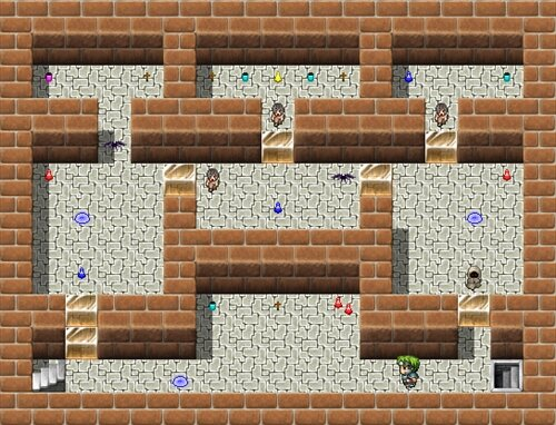 The Classical Dungeon Game Screen Shot1