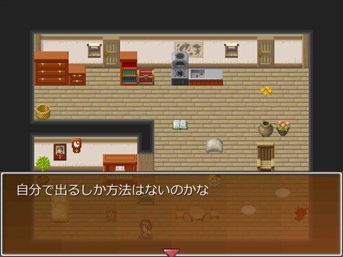 小屋からの逃亡 Game Screen Shot