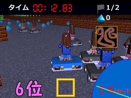 フィギュアカート Game Screen Shot1