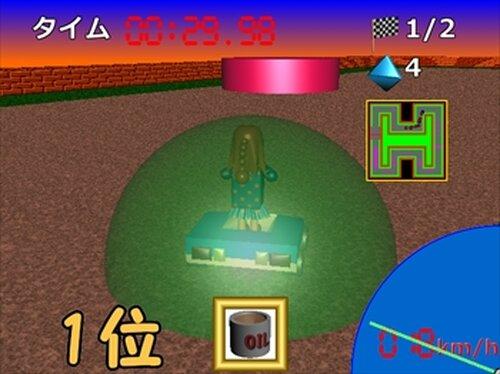 フィギュアカート Game Screen Shot4