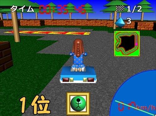 フィギュアカート Game Screen Shots