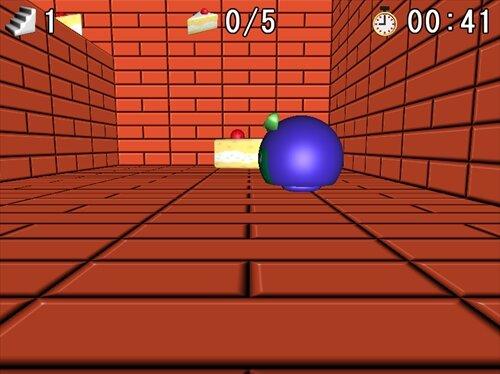 ケーキパクパクゲーム Game Screen Shot1