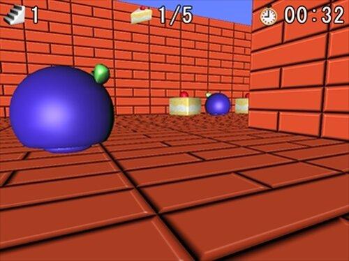 ケーキパクパクゲーム Game Screen Shots