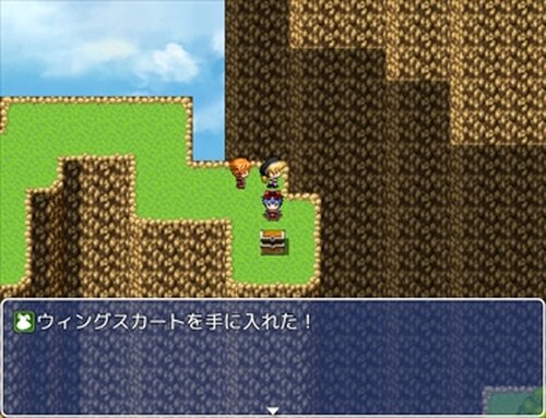 MV試作品 スカイワールド・ミニ Game Screen Shots