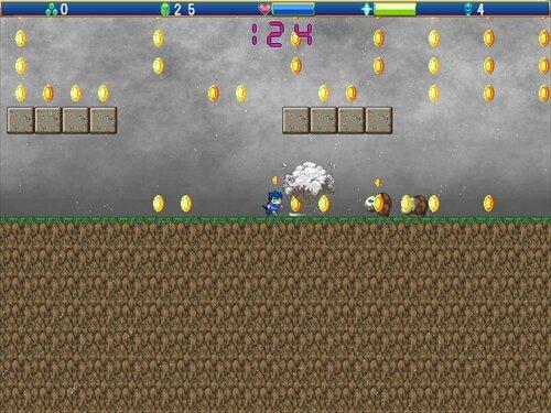 アクションエディター4非公式サンプルゲーム Game Screen Shot1
