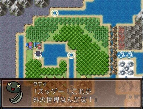 オタマよ、大海を抱けっ! Game Screen Shot