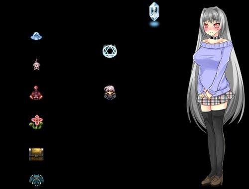 立ち絵脱衣バトルつく~る Game Screen Shot1