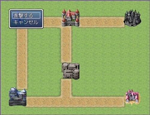 地域制圧型戦略シュミレーションつく~る Game Screen Shot3