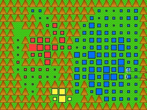 ライフゲームミニゲーム Game Screen Shot