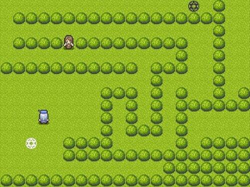 イライラ棒をRPG建造物で作成するとこうなる Game Screen Shot1