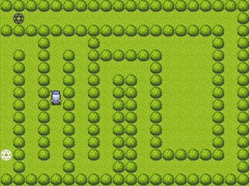 イライラ棒をRPG建造物で作成するとこうなる Game Screen Shots