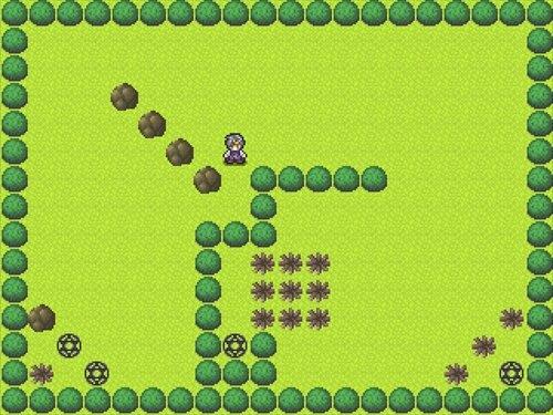 勇気ある男の軌跡 Game Screen Shot1