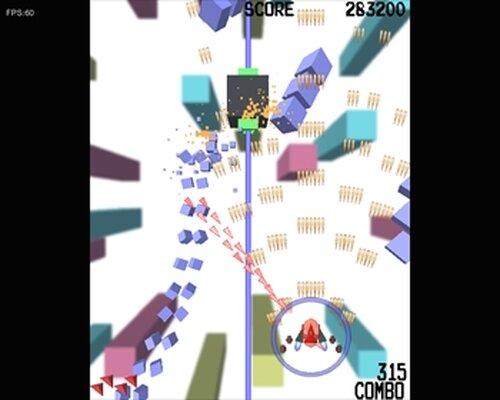 キューブストライカー! Game Screen Shot2