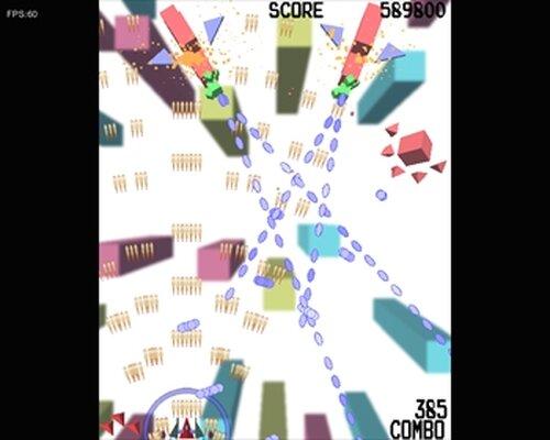 キューブストライカー! Game Screen Shot3