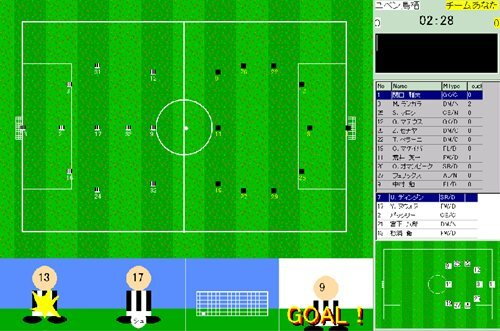 Mini Soccer Tactics3 Game Screen Shot1