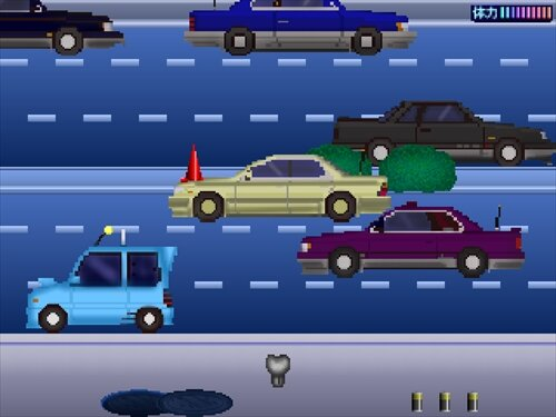 ロボネコの冒険4 Game Screen Shot1