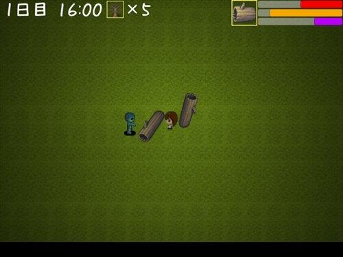 走る少女 Game Screen Shot
