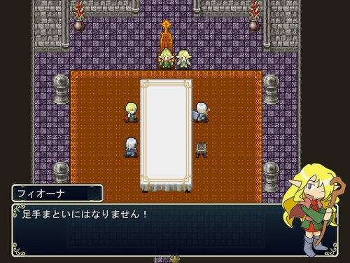 Legend of Lemuria -第二次人魔大戦- Game Screen Shot1