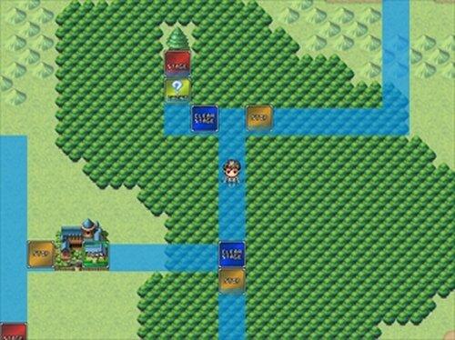 勇者の進軍 Game Screen Shot2