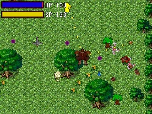 妖精とゴーレム Game Screen Shot1