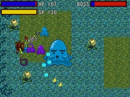 妖精とゴーレム Game Screen Shots