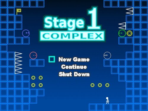 ステージ1 コンプレックス(ver1.30) Game Screen Shot