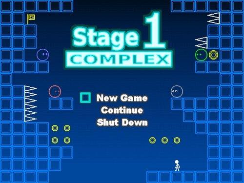 ステージ1 コンプレックス Game Screen Shot1