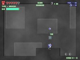 反動拳銃シルフィード Game Screen Shot3