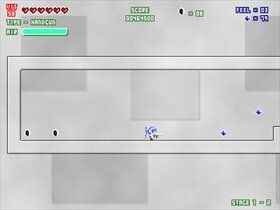反動拳銃シルフィード Game Screen Shot4