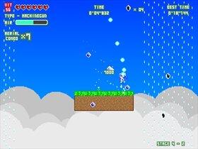 反動拳銃シルフィード Game Screen Shot5
