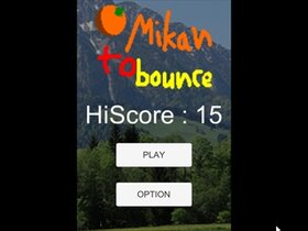 Mikan to bounce Game Screen Shot2