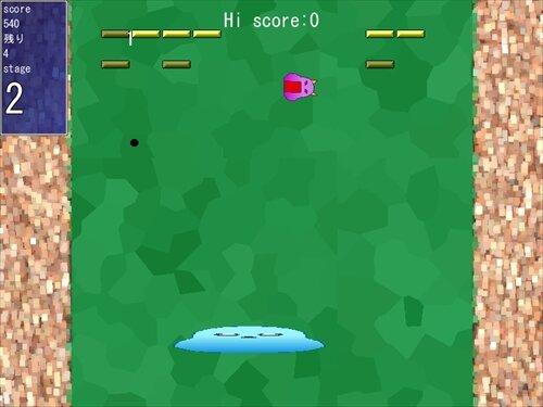 トゥルルのブロック崩し Game Screen Shot1