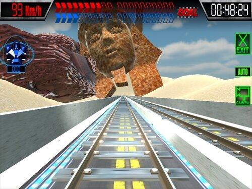 激走トレインレース Game Screen Shot1