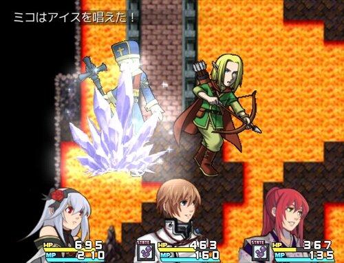 アメ降らしのミコ Game Screen Shot1