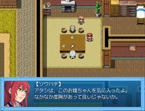 アメ降らしのミコ Game Screen Shot3