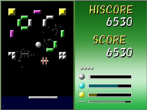 ブロック崩し Game Screen Shot1