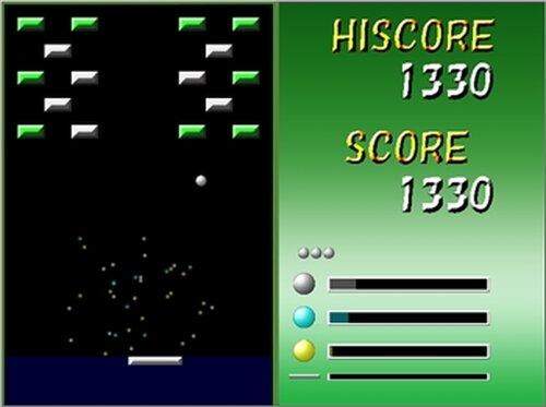 ブロック崩し Game Screen Shot3
