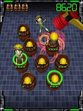 叩いてモグモグ Game Screen Shot4