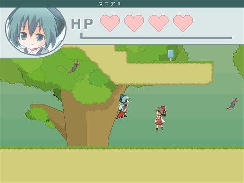 チルノエンドレス Game Screen Shot1