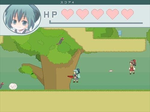 チルノエンドレス Game Screen Shot4