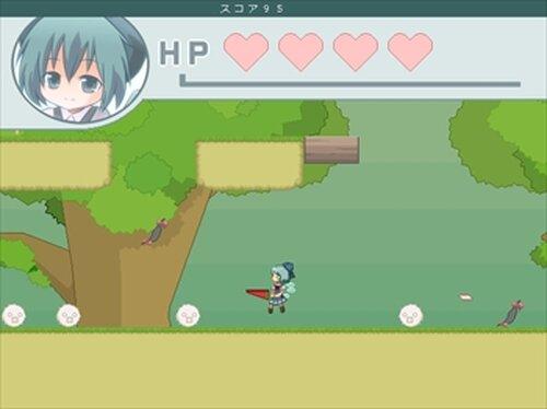 チルノエンドレス Game Screen Shot5