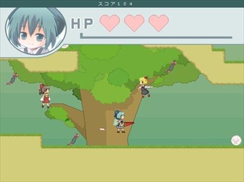 チルノエンドレス Game Screen Shots