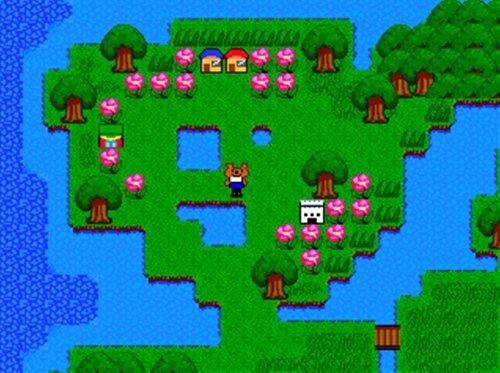 ハナの大冒険 Game Screen Shot