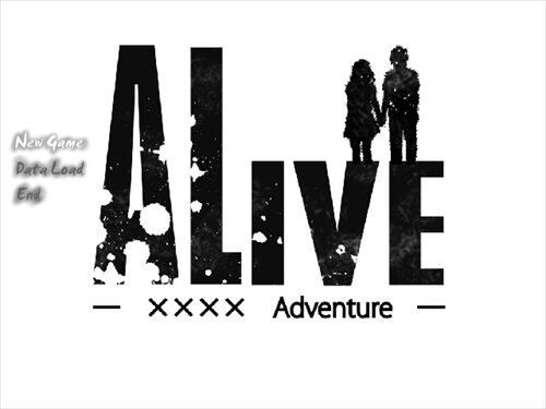 ALIVE-××××Adventure- Game Screen Shot1